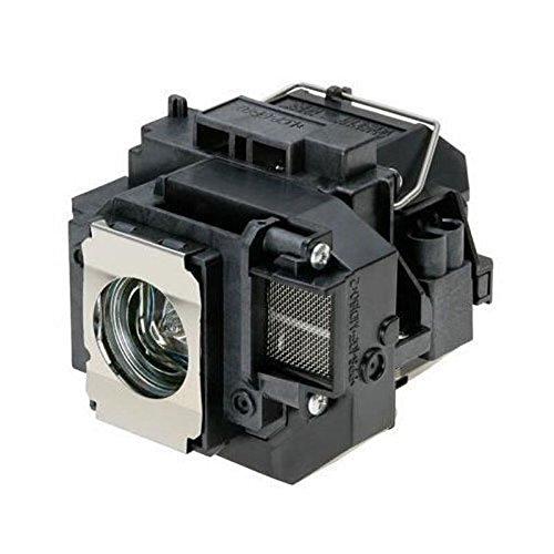 Supermait EP57 A++ Calidad Lámpara de Repuesto para proyector con Carcasa, Compatible con Elplp57, Adecuada para EB-440W / EB-450W / EB-450Wi / EB-455Wi / EB-460 / EB-460i / EB-465i EB-450We EB-460e