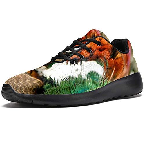 Zapatillas deportivas para correr para mujer con bola abstracta 3D de malla transpirable para caminar, senderismo, tenis, color, talla 37.5 EU