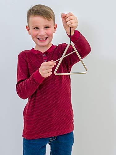 Betzold Musik Triangel, Kinder Musik-Unterricht Schule musizieren lernen Töne Klänge