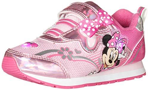 Josmo Kids Baby Girls Minnie Sneaker, Pink, 8 Infant