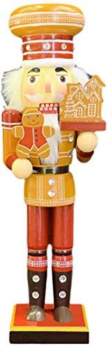 Plztou Cascanueces Decoraciones de Navidad 35 cm / 14 Pulgadas Figuras de cascancha - Instrumento Musical Soldado, Cascanueces Adornos de árbol de Navidad para la decoración del hogar de la Navidad