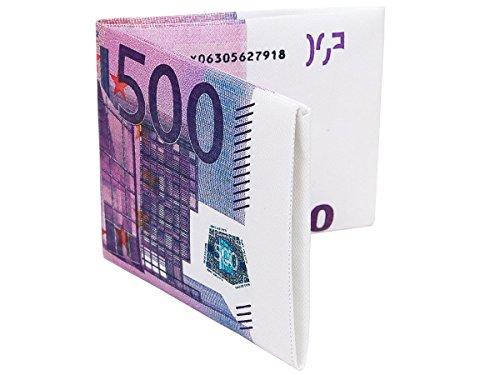Alsino Geldbörse Euroschein Dollarschein Geldbeutel Geldschein Brieftasche Portemonnaie Geschenkidee, wählen:500 Euro Schein Börse 03