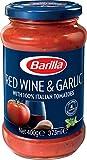 Barilla Red Wine and Garlic Pasta Sauce, 400g