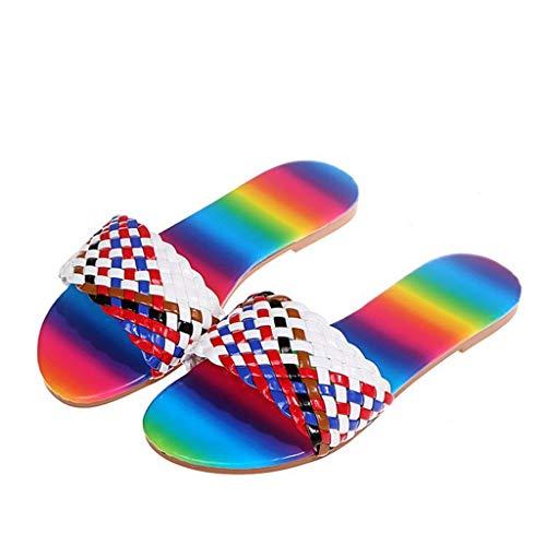 Chanclas de Playa Zapatos de Piscina para Niña Sandalias Verano Antideslizante Zapatillas de Baño Casa Mujer Chanclas y Sandalias de Piscina