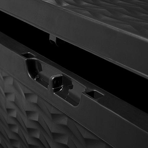 Auflagenbox CARGO mit Rollen, 320L, 120cm - 3