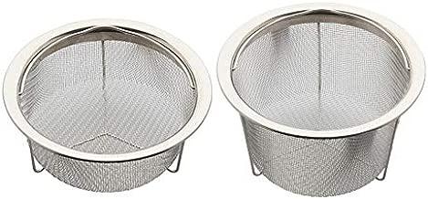 Instant Pot Mesh Steamer Basket (Small) Bundle With Instant Pot Mesh Steamer Basket (Large) (2 Items)