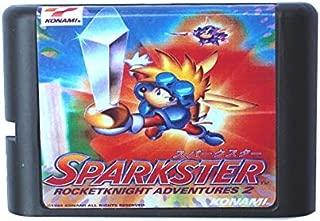 Value★Smart★Toys - Sparkster Rocketknight Adventures 2 16 bit MD Game Card for Sega Mega Drive for Genesis
