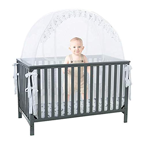 Pro Baby Safety Pop Up Tent for Infant Bed: Premium Cot Canopy Netting...