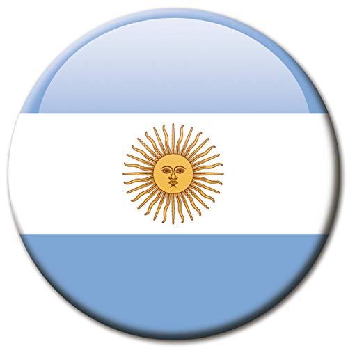 Kühlschrankmagnet Argentinien Flaggen Magnet Länder Reise Souvenir Flagge für Kühlschrank stark groß 50 mm