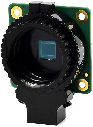 Raspberry Pi High Quality Camera, 12.3MP IMX477 Sensor, Supports C/CS Lenses