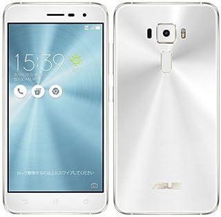 ASUS ASUS ZenFone3 5.2 Dual SIM ZE520KL-WH32S3RT White【32GB 楽天版 SIMフリー】
