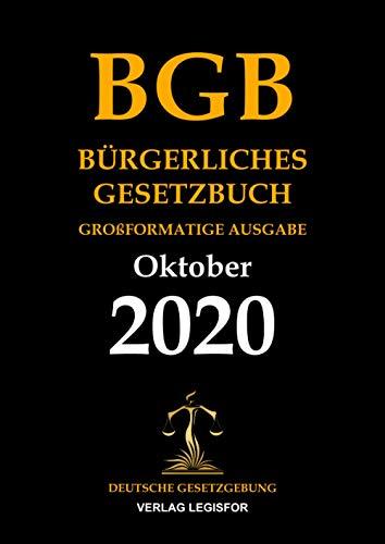 Bürgerliches Gesetzbuch BGB. Großformatige Ausgabe