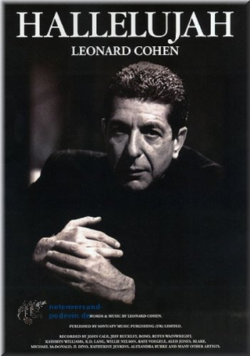 Leonard Cohen Hallelujah - Partituras para Piano