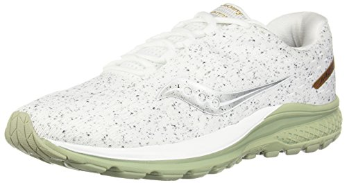Saucony Men Jazz 20 Neutral Running Shoe Running Shoes White - Silver 8