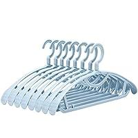 cssmwsjysfhd Perchas Ropa 20 Piezas de Perchas Que no Dejan Marcas Bastidores de Secado Antideslizantes para Adultos Ropa para el hogar Perchas Perchas de plástico Perchas ensanchadas