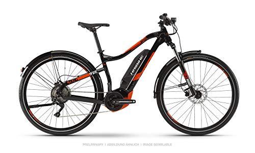 HAIBIKE Sduro HardSeven 2.5 Street 27.5'' Pedelec E-Bike MTB schwarz/rot/weiß 2019: Größe: M