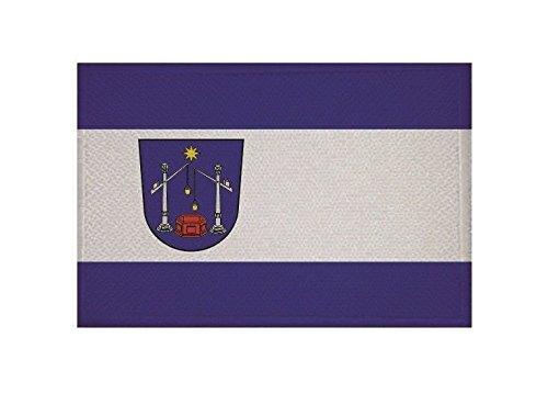U24 Aufnäher Bad Salzuflen Fahne Flagge Aufbügler Patch 9 x 6 cm