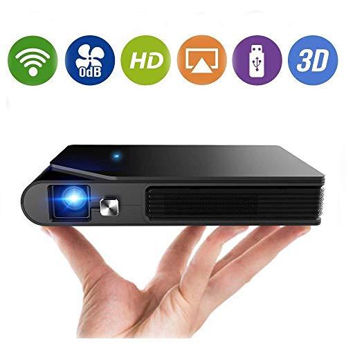 Mini proyector inalámbrico portátil Wifi 3D DLP