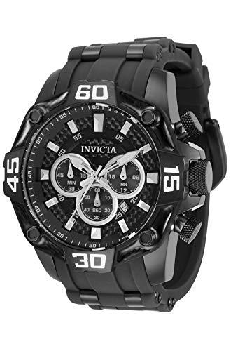 Invicta Men's Pro Diver 33841 Black Stainless-Steel Quartz Diving Watch