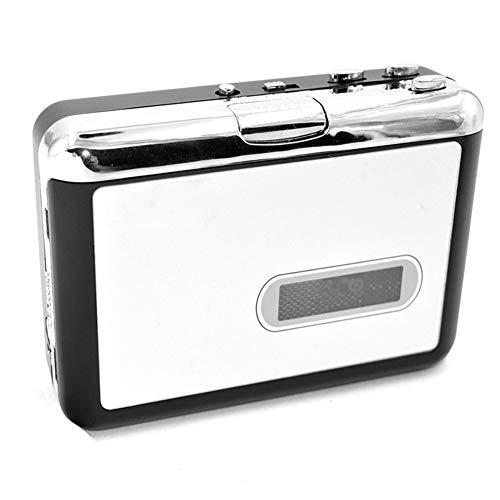 ZXY Tragbarer Walkman & Convert Kassetten to MP3 Converter, Walkman-Kasette-Player mit eingebauten Lautsprecher-Mikrofon,B