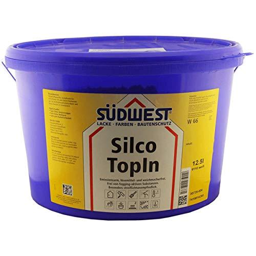 Südwest Silikat SilcoTopIn Wandfarbe weiss 12,5 Liter