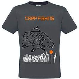 Krazz-Shirtz t-Shirt carpes, Chemise Carp, Chemise Carpe, Carpe de pêche à Capuche,