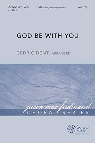 William G. Tomer,Jeremiah E. Rankin-God Be with You-SATB-CHORAL SCORE