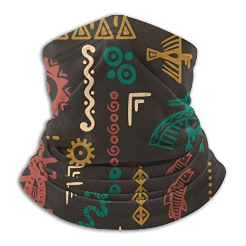 Native American Symbols Ornament Face Mask Dust Wind Neck Gaiter Bandana Headwear Face Scarf