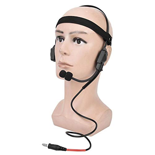 DAUERHAFT Auriculares con micrófono fáciles de Transportar Modelo Z136 Auriculares con Altavoces óseos Auriculares con Altavoces óseos 5.1 x 5.1 Pulgadas