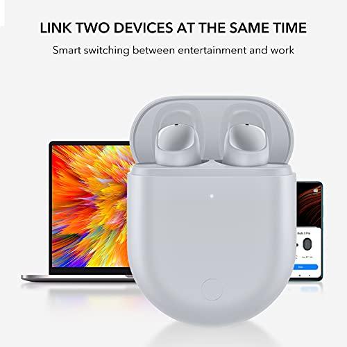 Xiaomi Redmi Buds 3 Pro Cuffie Bluetooth 5.2 Auricolari Bluetooth Cancellazione del Rumore Ambientale Ricarica Rapida IPX4 Compatibile con doppia Funzione di Connessione Cuffie Wireless, Grigio