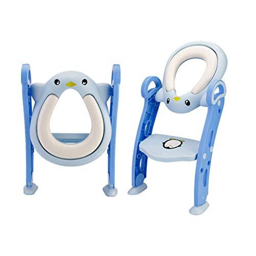 Liudan-Chaises et tabourets Siège de Toilette pour bébé Enfants échelle réglable Pot d'enfant Chaise Pliante siège d'autocar WC siège d'enfant Pot