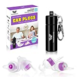 Ear Plugs for Sleeping, Vigoroad 2 Pair Soft Noise Reduction and Sound Blocking Earplugs for Small Ear Canals, Hearing Protection Earplugs for Sleeping, Snoring, Concerts, Loud Events