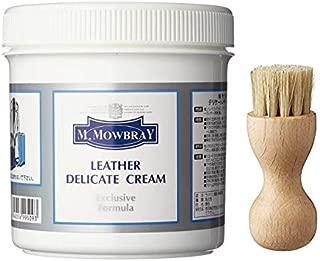 [エム・モゥブレィ] デリケートクリーム Lサイズ ブラシセット すぐ使える 便利