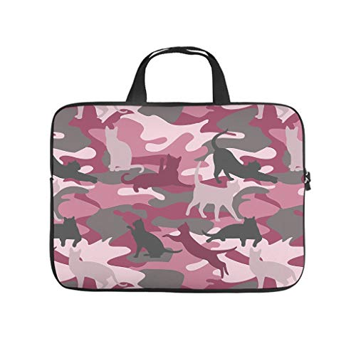 Waterproof Camouflage Cat Laptop Bag Case Laptop Sleeve - for Notebook white3 15 Zoll