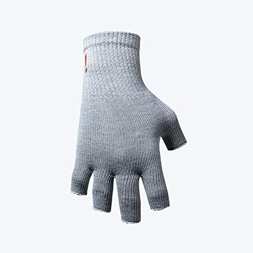Incrediwear Fingerless Circulation Gloves, Grey, Sm/Med