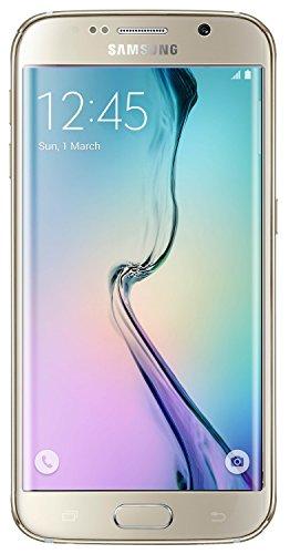 Samsung Galaxy S6 Edge G925a 32GB Unlocked GSM 4G LTE Octa-Core Smartphone w/ 16MP Camera - Gold Platinum