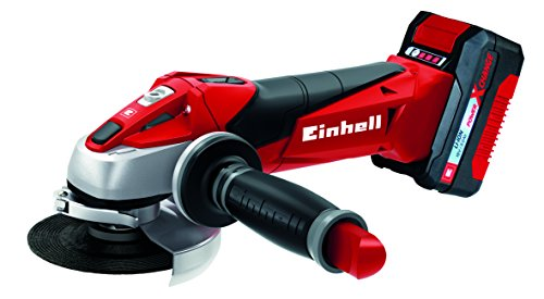 Einhell Expert Amoladora TE-AG 18/115 Li Kit Power X-Change, Li-Ion, 1
