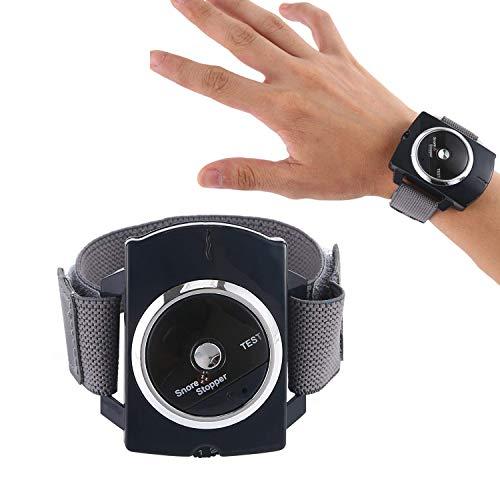 GHzzY Anti-Schnarch-Armband - Intelligenter Anti-Schnarch-Biofeedback-Sensor - Schnarchschalldämpfer - Effektive Schnarchstopplösung (blau)