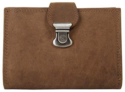 Harold's Geldbörse Echt Leder braun Damen - 017685