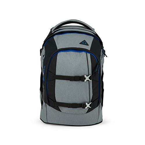 ergobag Unisex S2011322 Sport-Rucksack Sat-No-001-115, grau, 30 l