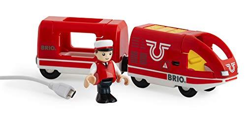 BRIO Bahn 33746 - Roter Akku-Reisezug