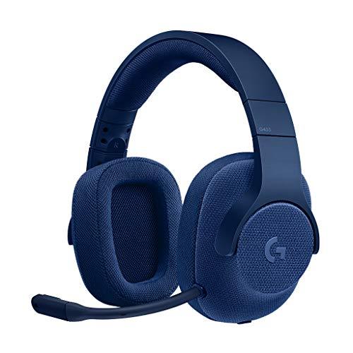 Logicool G ゲーミングヘッドセット G433BL ブルー Dolby 7.1ch ノイズキャンセリング マイク 付き PC PS4 ...