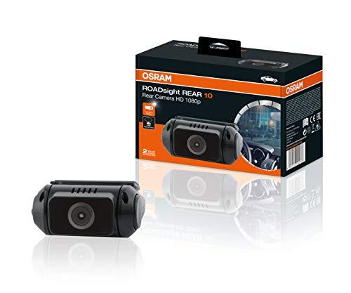 OSRAM ORSDCR10 Rear 10, Dash Cam, Telecamera Posteriore per Auto, Full HD 1080p, 30 fps, 130° grandangolo, Funziona in Combinazione con la Fotocamera Anteriore ROADsight 50