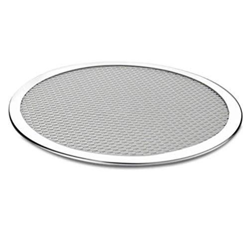 Non Stick Pizza Screen Pan Taily Banking Bandeja Metal Net Nuevo Aluminio de Aluminio Metal Neto Herramientas de Cocina Pizza 6-22 Pulgadas (Color : 9 Inch)