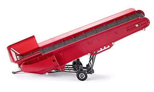 Siku 2466, Elektrisches Förderband, 1:32, Metall/Kunststoff, Batteriebetrieben, Ankoppel- und verstellbar, Rot