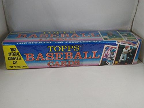 Topps Baseballkarten Komplettset 1989