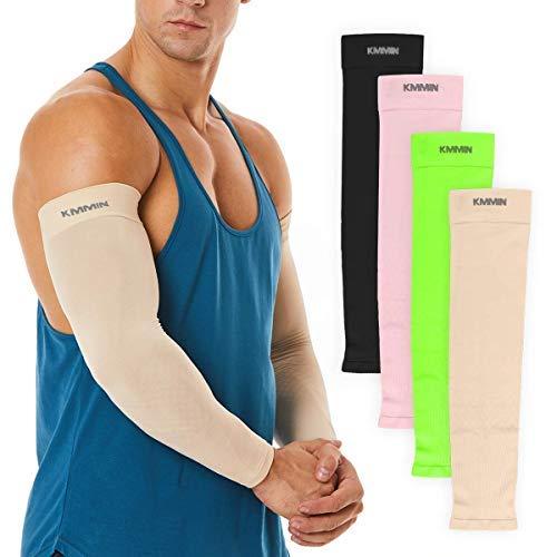 KMMIN Mangas del Brazo Mangas de protección UV para Conducir Ciclismo Baloncesto