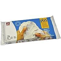 Arcilla natural que endurece al aire PLUS 1 kg Blanco