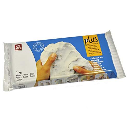 SIO-2 Plus 20230010 Pâte à modeler Autodurcissante Blanc