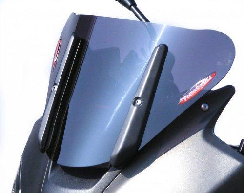 Powerbronze 460-S101-002 Adventure Sports Screens to fit Suzuki V-Strom 650 and 1000 (250mm) Dark Tint